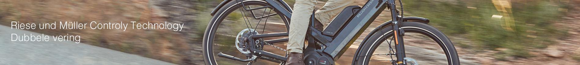 E-bikes dubbele vering